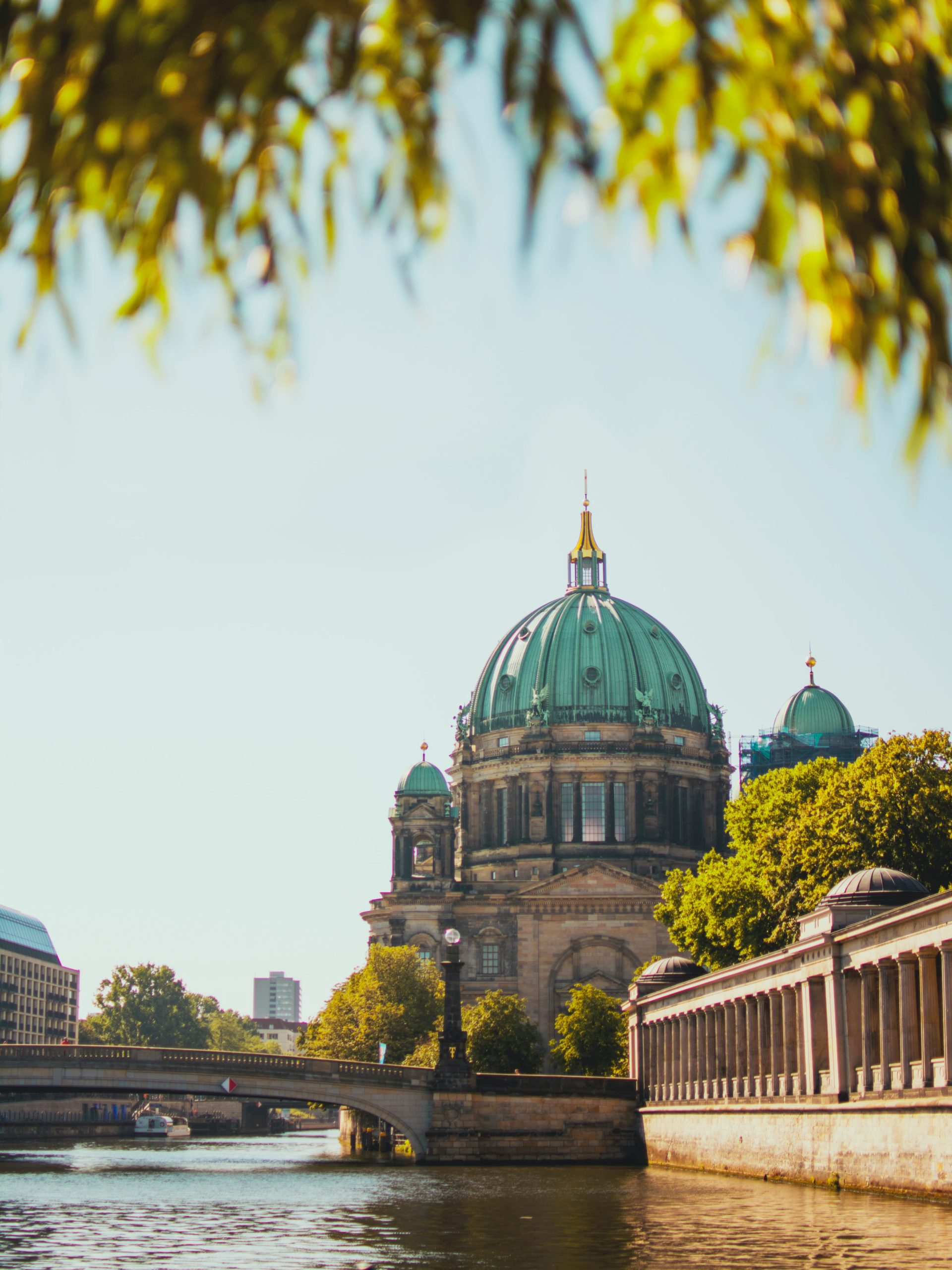 low-angle photography of Berlin Cathedral, Berlin, Germany during daytime